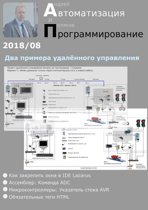 Автоматизация и программирование 2018/08