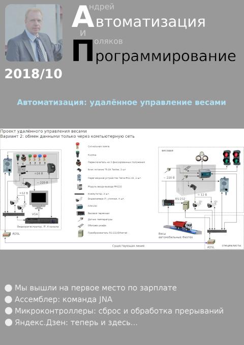 Автоматизация и программирование 2018/10